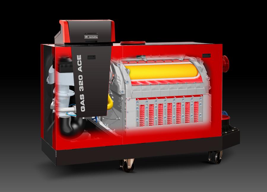 Gas 320 Ace yer tipi kaskad kazan aksesuarları